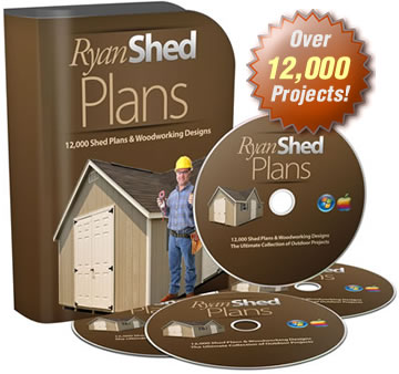 Some Samples Of Shed Plans Available