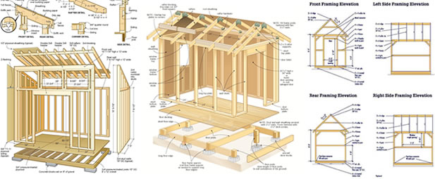 RyanShedPlans 12000 Shed Plans with Woodworking Designs Shed