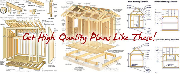 Collection Of Shed Plans
